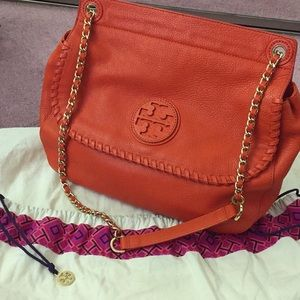 Tory Burch leather chain purse Authentic!